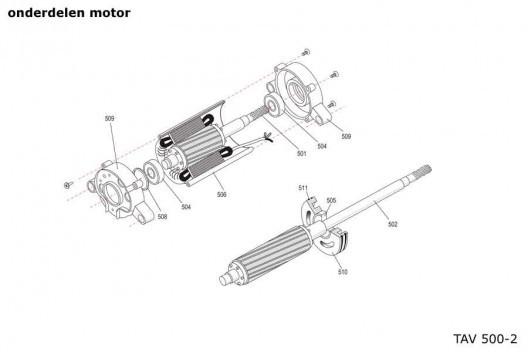 popup motoronderdelen